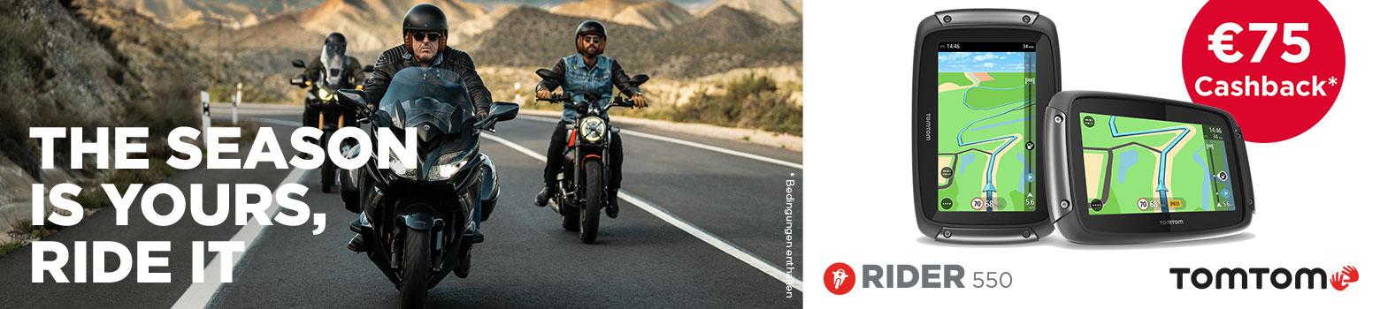 TomTom Rider 550 75 Eur Cashback