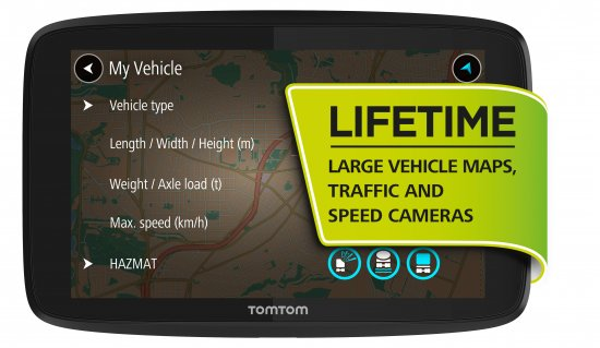 tomtom go professional 6250 lkw navi avalingo. Black Bedroom Furniture Sets. Home Design Ideas