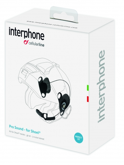 Interphone Audio-Kit für Urban/Sport/Tour 2016 - Shoei