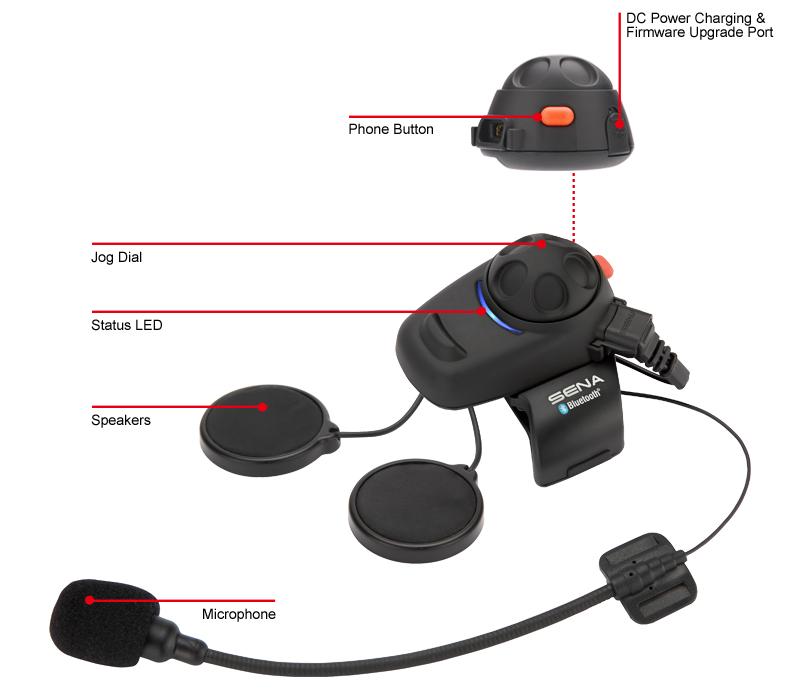 sena smh5 motorrad bluetooth kommunikation system single. Black Bedroom Furniture Sets. Home Design Ideas