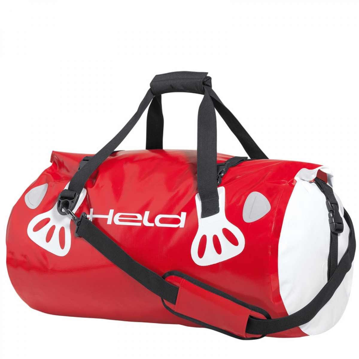 HELD Carry Bag Hecktasche rot-weiß