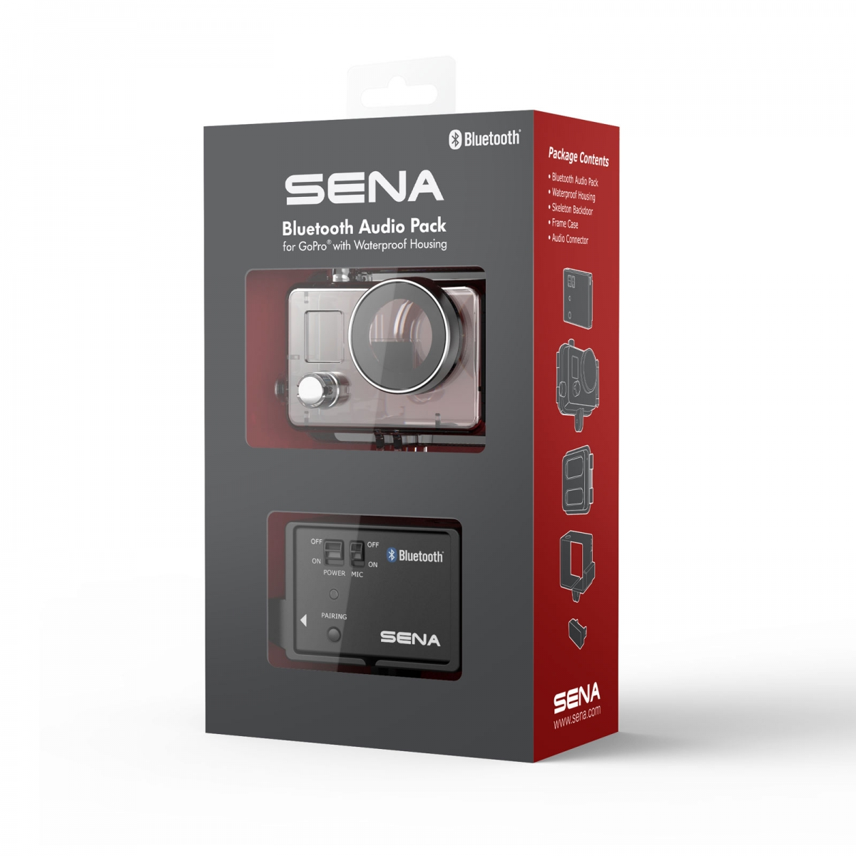 Sena GP10-02 Bluetooth Audio Pack für GoPro